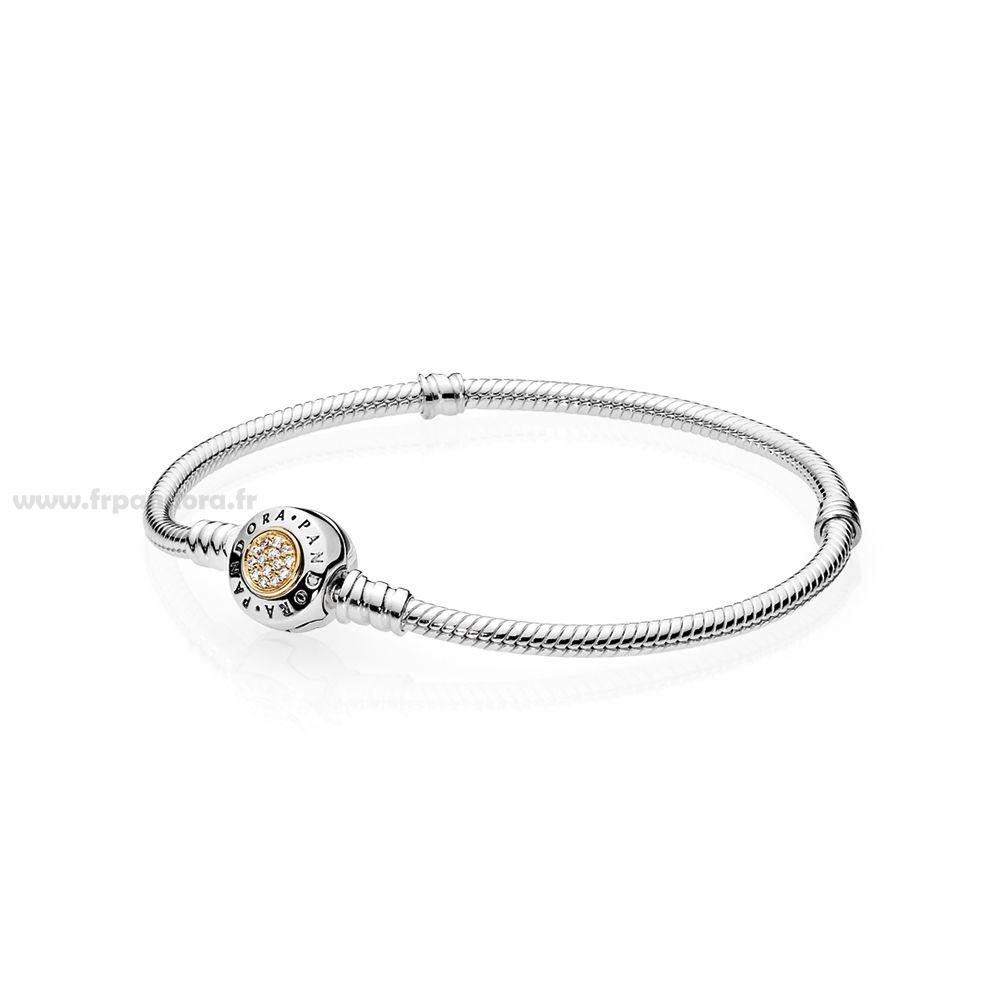 pandora bracelet cuir ivoire