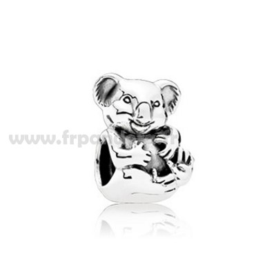 Soldes PANDORA Animaux Animaux Charms Cuddly Koala Charm Personnalisé