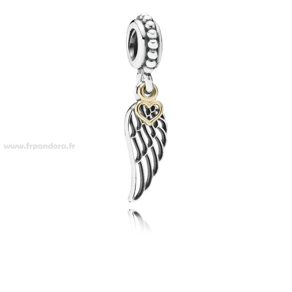Soldes PANDORA Passions Charms Chic Glamour Amour Guidance Dangle Charm Personnalisé